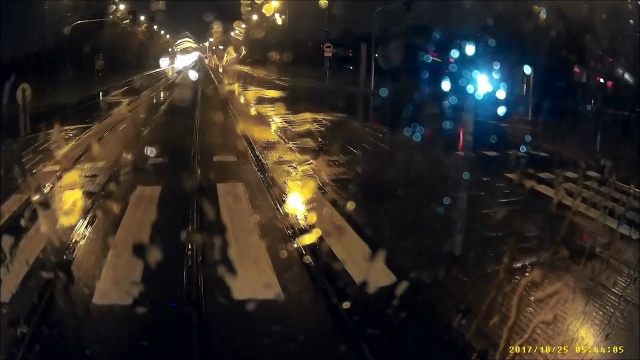 Kolizja samochodu z tramwajem przy Politechnice Poznańskiej