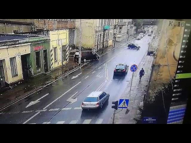 Drastyczne nagranie potrącenia w Piotrkowie
