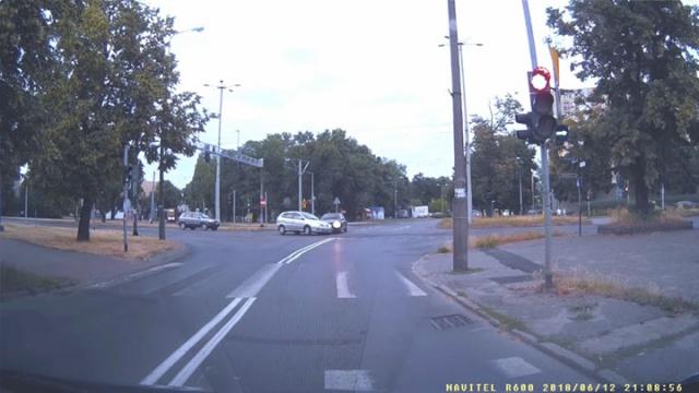 Kolizja w Toruniu