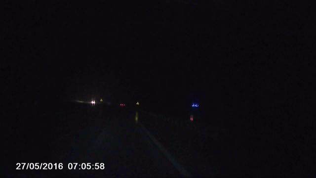 Nocne zderzenie na A1 w Zabrzu