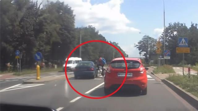 Potrącenie rowerzysty w Stalowej Woli