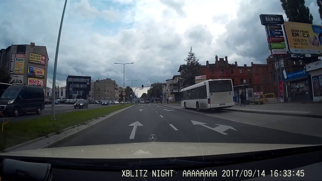 Wrzesniowa kolizja na skrzyżowaniu w Toruniu