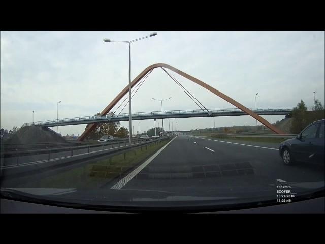 Agresja na drodze A4