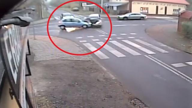 Wypadek w Bełchatowie