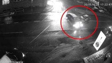 Wypadek na ulicy Pocztowej w Raciborzu