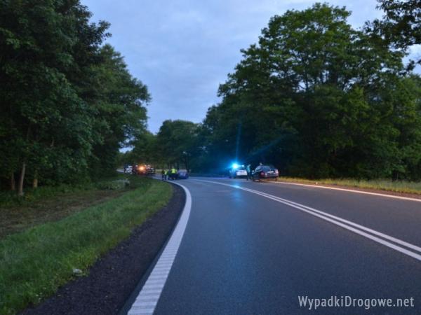 W Bożympolu Wielkim zginął 18-letni pasażer forda mondeo