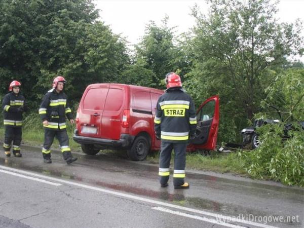 Pasażer nie przeżył wypadku