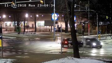 Wypadek przy Lidlu w Lublinie